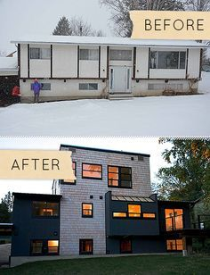 8 best exterior home renovation images on pinterest before after