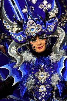 Simon Anon Satria: The famous Ethno Carnival from Banyuwangi, East Java - Indonesia.
