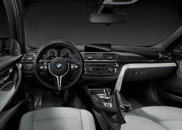 2015 BMW M3 Sedan Dashboard 600x429 2015 BMW M3 Sedan Full Review