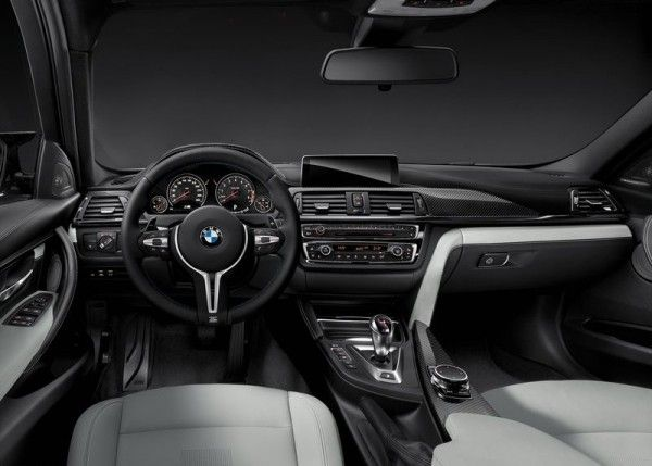 2015 BMW M3 Sedan Dashboard 600x429 2015 BMW M3 Sedan Full Review