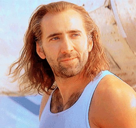 The Chad Kroeger: | The 18 Most Important Hairstyles Of Nicolas Cage's Life