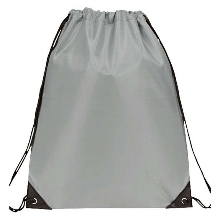 The simple yet timeless custom Drawstring Bag is the  perfect promotional product for corporations, schools and organizations.  These imprinted drawstring bags are constructed out of 210D Nylon for a  durable yet lightweight feel. Reinforced corner eyelids provide support  and stability for the drawstrings. A wide variety of colors and pastels  allows you many options to accentuate any logo or design. The large  capacity of this 14.5W 18H custom drawstring backpack is perfect for  outdoor…