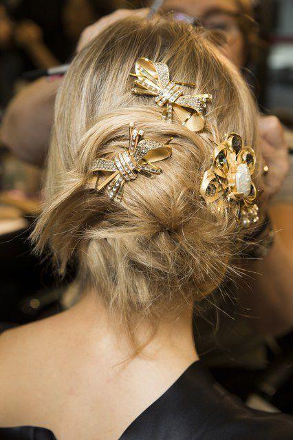 Bin hairstyles - Yine birbirinden şık topuz saç modelleri   SadeKadınlar - Güzellik Sırları