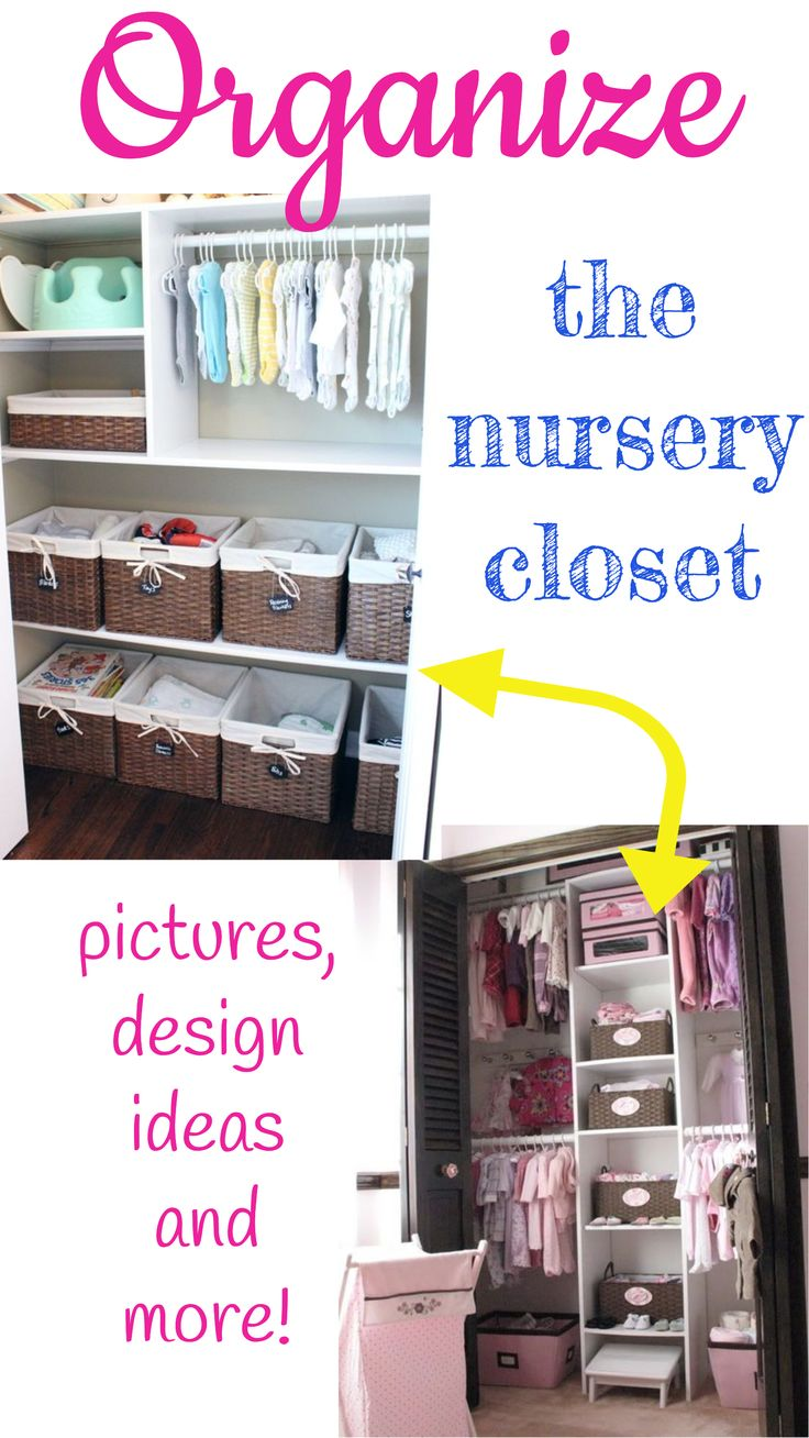 Top tips for making a baby s nursery special - Baby Closet Organizing Tips Nursery Closet Organization Ideas For Boy Baby Closets And Girl Babies