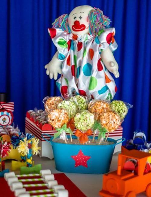 fiestas infantiles el fabuloso mundo del circo3 Fiesta de Cumpleaños inspirada en el circo