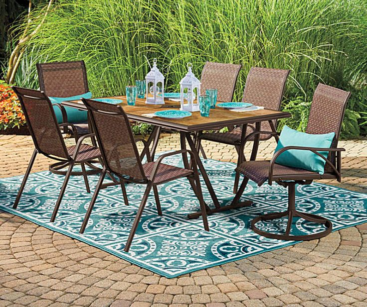 Dining Table Big Lots: I Found A Wilson & Fisher Ashford Patio Furniture