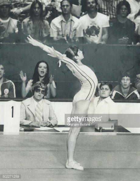 Romanian gymnast Nadia Comaneci, above, is an athlete, not a pixie, reader points out.