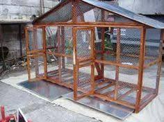 Resultado de imagen para jaulas grandes para aves caseras