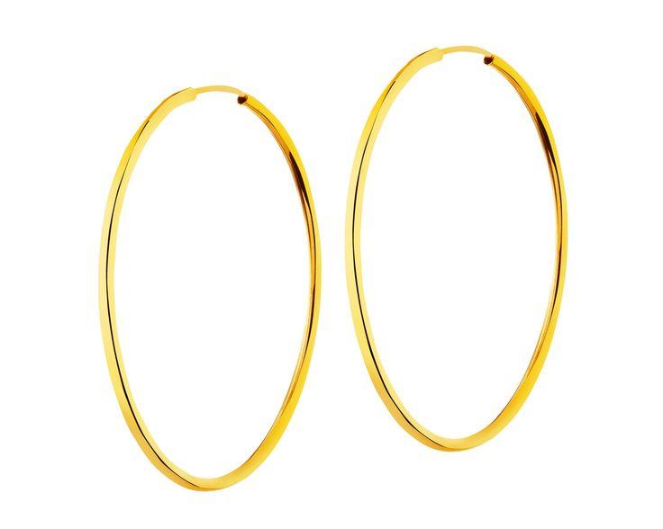 Złote kolczyki - wzór AP32-167 / Apart