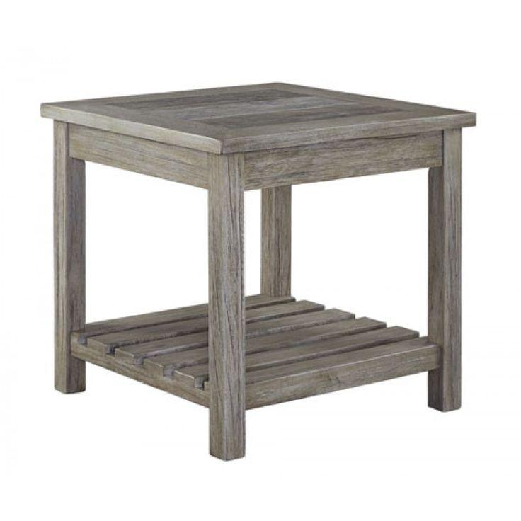 Veldar Square End Table
