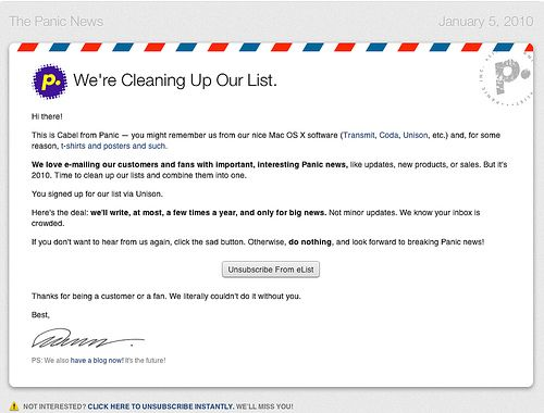 how to start an offer email