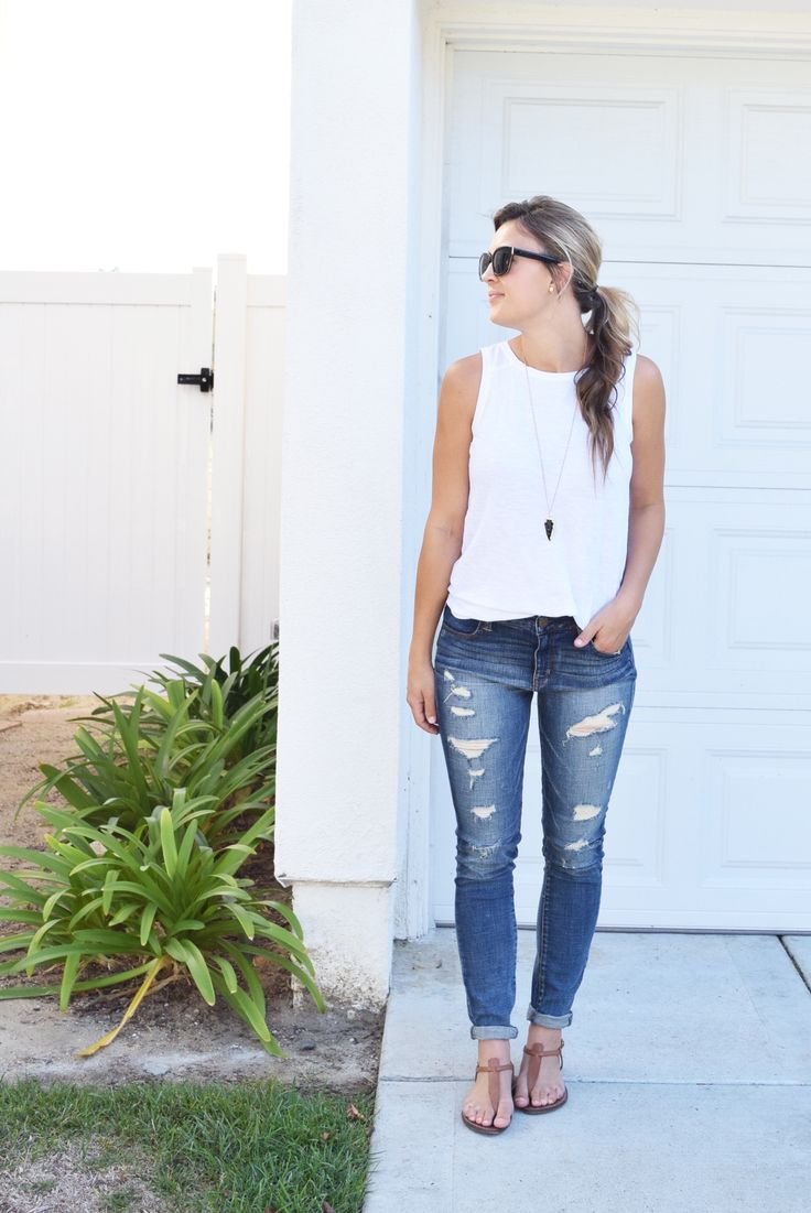287 best Outfit Ideas - Skinny Jeans images on Pinterest   Casual ...
