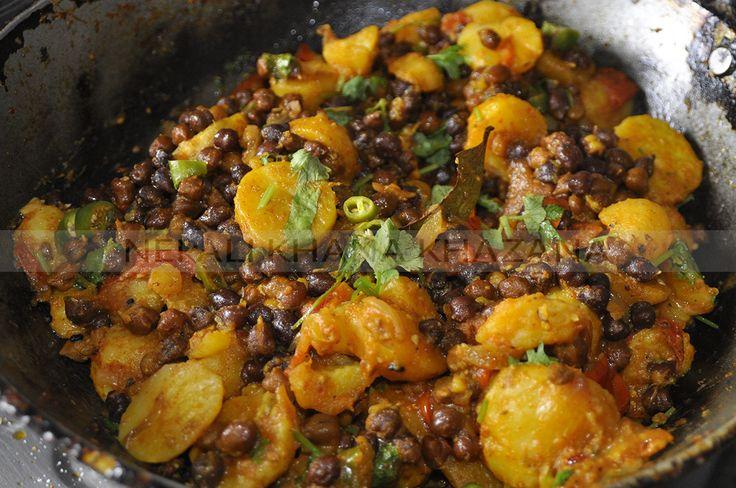 Aalu Chana Ko Tarkari Nepali Food Pinterest Photos