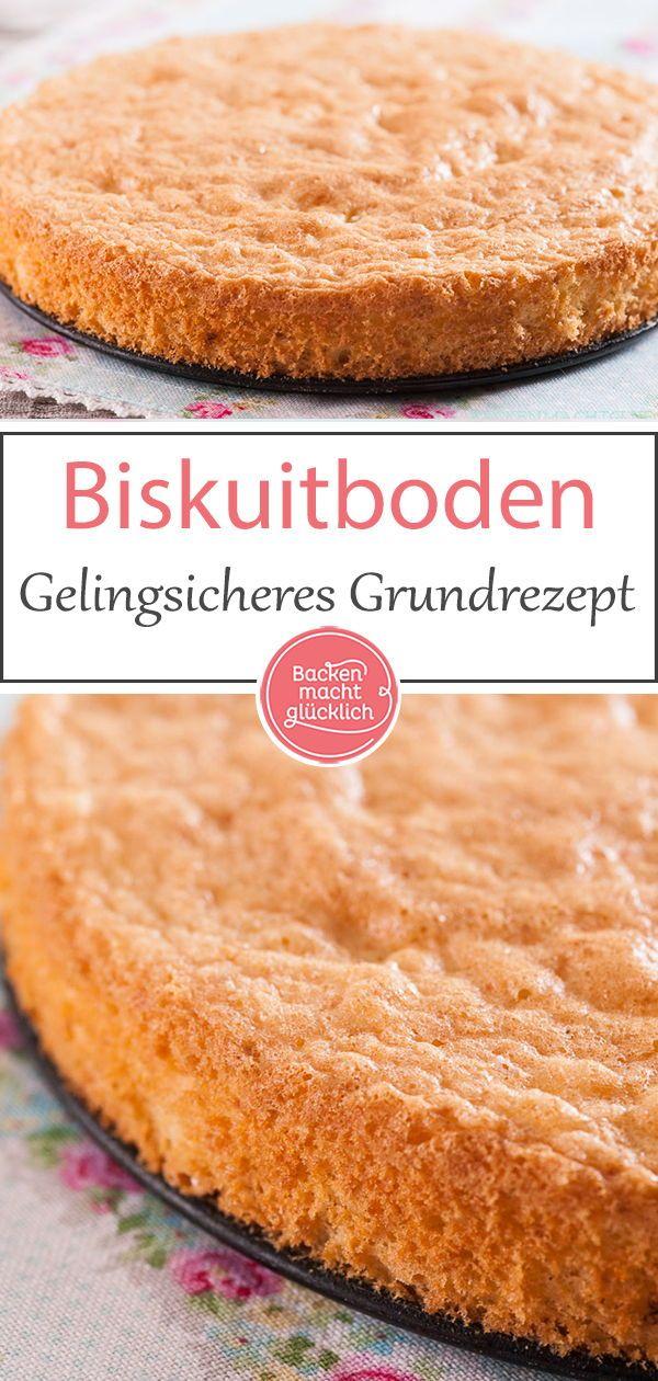 Sponge cake basic recipe