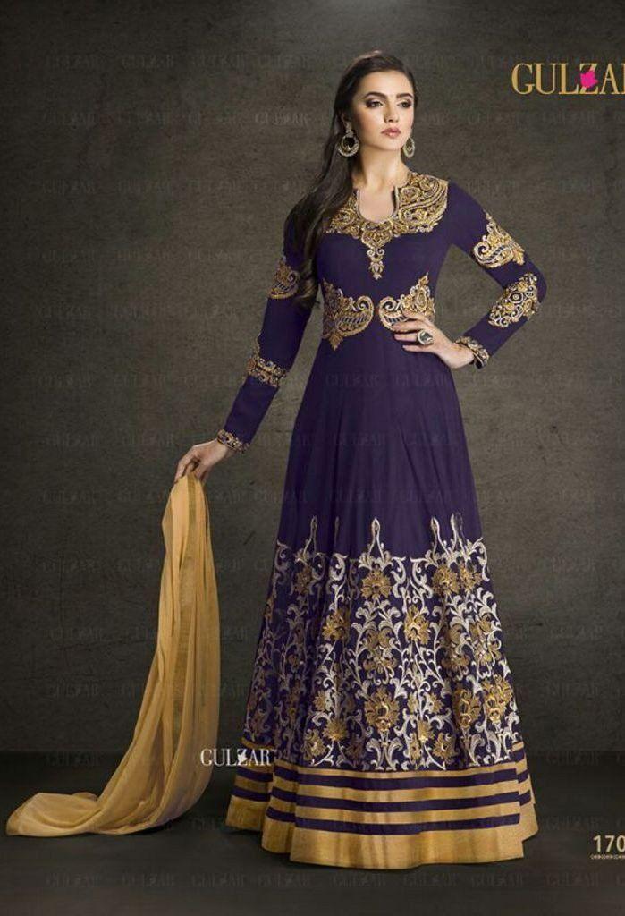 Faux Georgette Salwar Kameez With Inner Santoon and Chiffon Dupatta @ fashionsbyindia.com #designs #indian #womens #style #cloths #stylish #casual #fashionsbyindia #punjabi #suits #wedding #chic #elegance #beauty #outfits #fantasy #embroidered #dress #PakistaniFashion #Fashion #Longsuit #FloralEmbroidery #Fashionista #Fashion2015 #IndianWear #WeddingWear #Bridesmaid #BridalWear #PartyWear #Occasion #OnlineShopping #salwar #kameez #anarkali