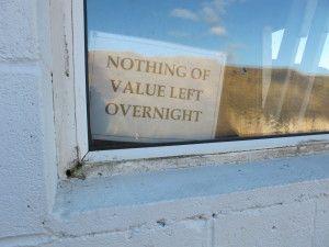 FlashPIC #9: Nothing of Value Left Overnight