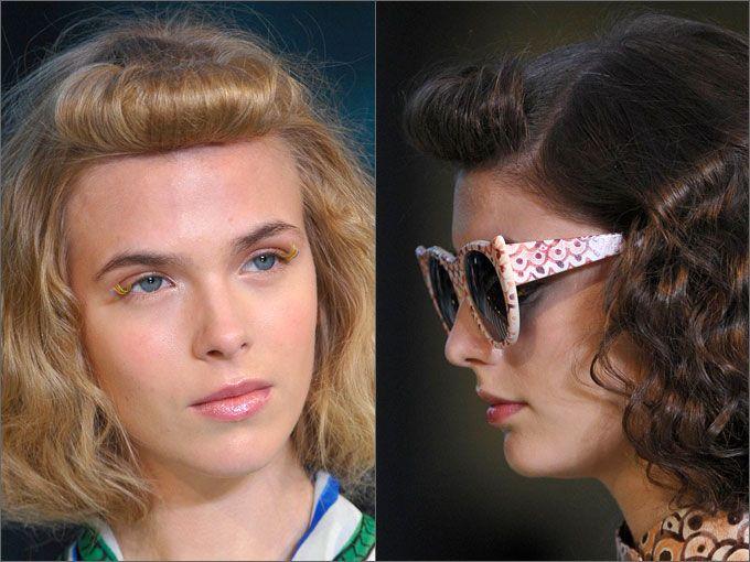 Прически в стиле ретро |Весна-лето 2016 на Fashion-fashion.ru
