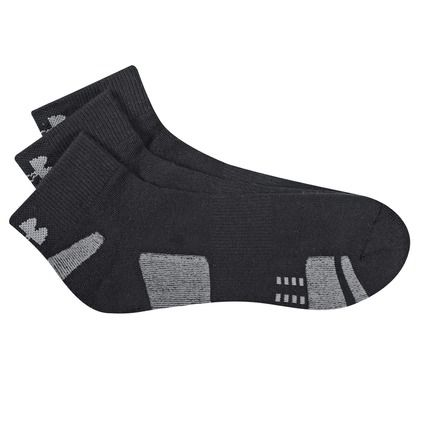 Health Goth // Rebel Sport / Under Armour HeatGear Low Cut 3 Pack Socks