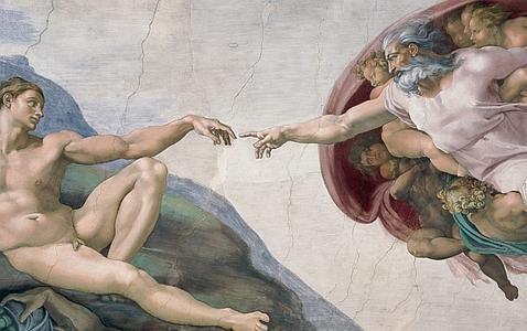 PINTURA ::: Pintura Mural en la capilla Sixtina , entre 1536 a 1541- MIGUEL ANGEL