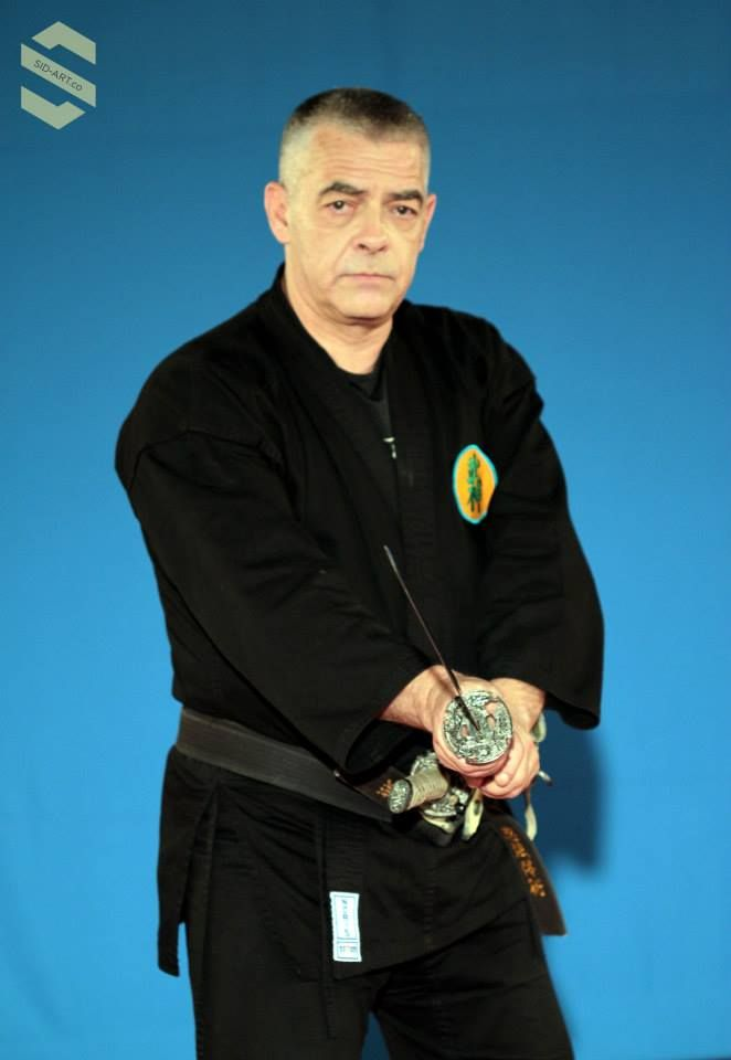 Dai Shihan Arnaud Cousergue, one of the top Bujinkan - Budo Taijutsu / Ninjutsu practitioners in the world. And author of the Spirit of Movement.  http://www.amazon.in/The-Spirit-Of-Movement-Student-ebook/dp/B00PUKZY9C Photographed by Sid-Art Photography (Siddharth Devaraj), at a Bujinkan seminar in Bangalore,  India.