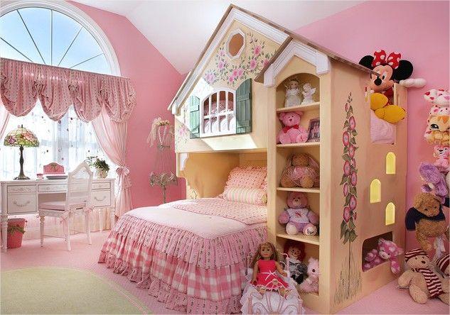 Традиционная спальня маленькой принцессы
