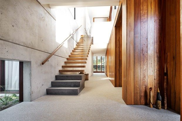 Hunters Hill textural house