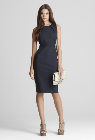 marina dress from elie tahari- I love wearing classic dresses like this to work.