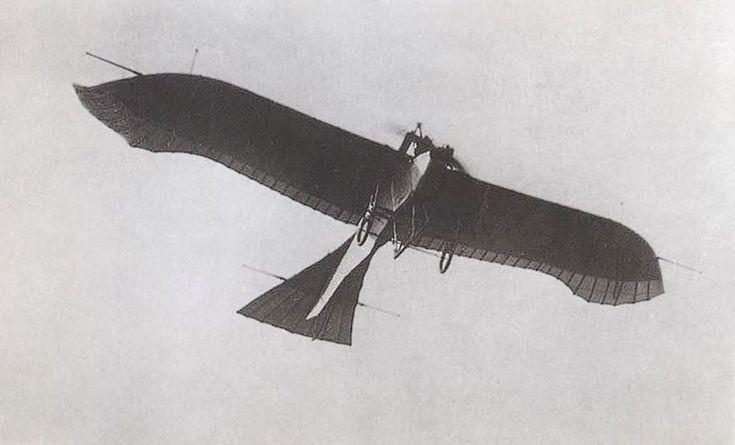 O exército italiano também estava equipado com o Taube, usado em missões de bombardeiro (Domínio Público)