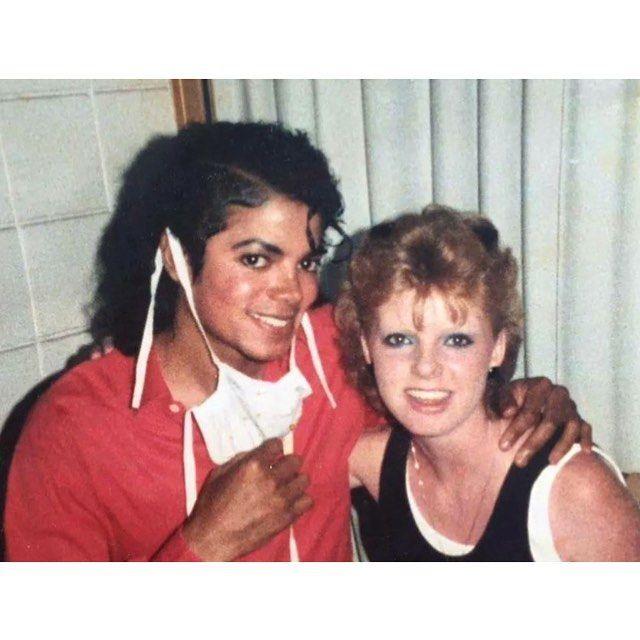 MJ and Kim Masters, circa 86 #michaeljackson #enjoy