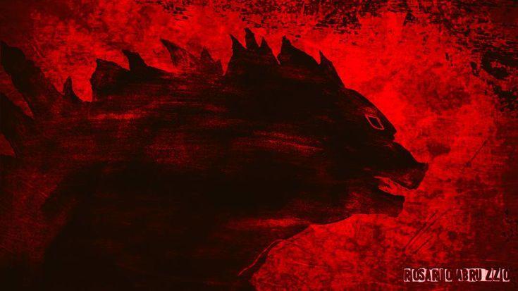 """Rosario Abruzzo (@rosario_abruzzo) su Instagram: """"Graffito rupestre finito! #gojira #godzilla #shingodzilla #shingojira #rupestre #preistoria #pittura #pitturarupestre #grotta #incisione #graffiti #cave #cavepainting #painting #draw #drawing #color #paleolitica #artrock #volcano #kaiju #pencil #artwork"""