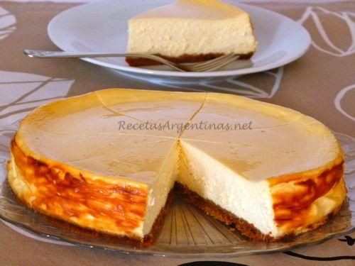 Tarta de Queso (New York Cheese Cake)