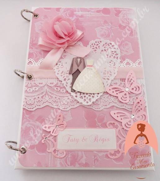 Dê a você mesma esse charmoso presente! Tenha sempre em mãos um delicado caderno…