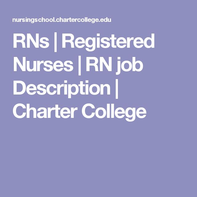 The  Best Registered Nurse Job Description Ideas On