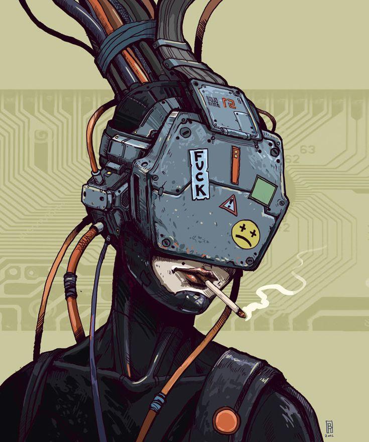 Cyberpunk, Boris Rogozin on ArtStation at https://www.artstation.com/artwork/J3wgz