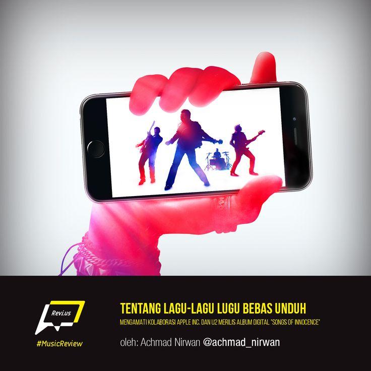U2 merilis album digital bersama Apple Inc.? Ayo baca pengamatan saya tentang kolaborasi ini di http://bit.ly/1nSflMS.