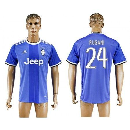 Juventuss 16-17 #Rugani 24 Bortatröja Kortärmad,259,28KR,shirtshopservice@gmail.com