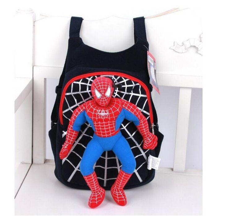 $8.68 (Buy here: https://alitems.com/g/1e8d114494ebda23ff8b16525dc3e8/?i=5&ulp=https%3A%2F%2Fwww.aliexpress.com%2Fitem%2F2015-new-children-cute-3D-Spiderman-backpack-baby-schoolbag-for-boys-girls-cartoon-Spider-man-bags%2F32792016129.html ) 2015 new children cute 3D Spiderman backpack baby schoolbag for boys girls cartoon Spider-man bags Kids Plush mochila infantil for just $8.68