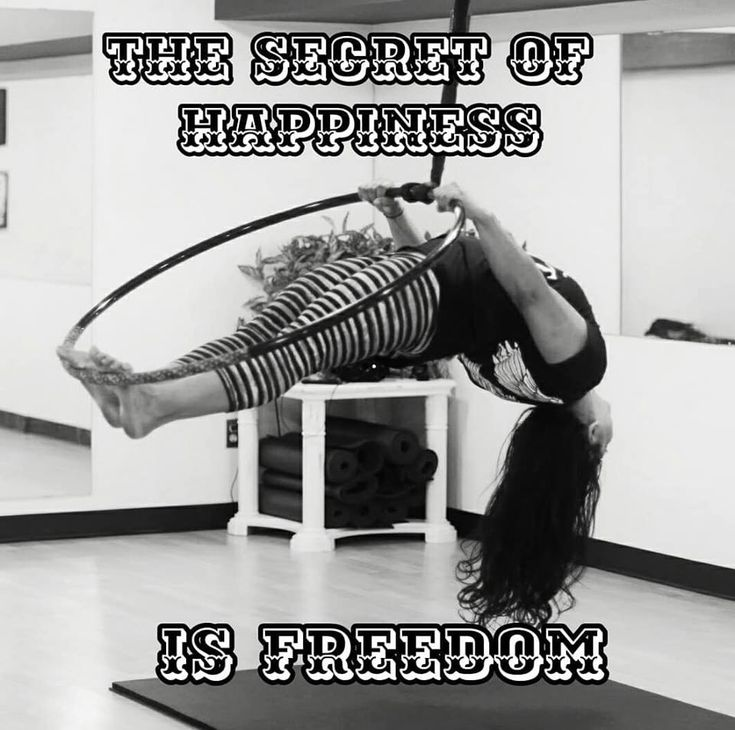 The secret of happiness, is freedom.