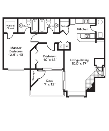 74 Best Images About Apartment On Pinterest House Plans Apartment Floor Plans And Garage