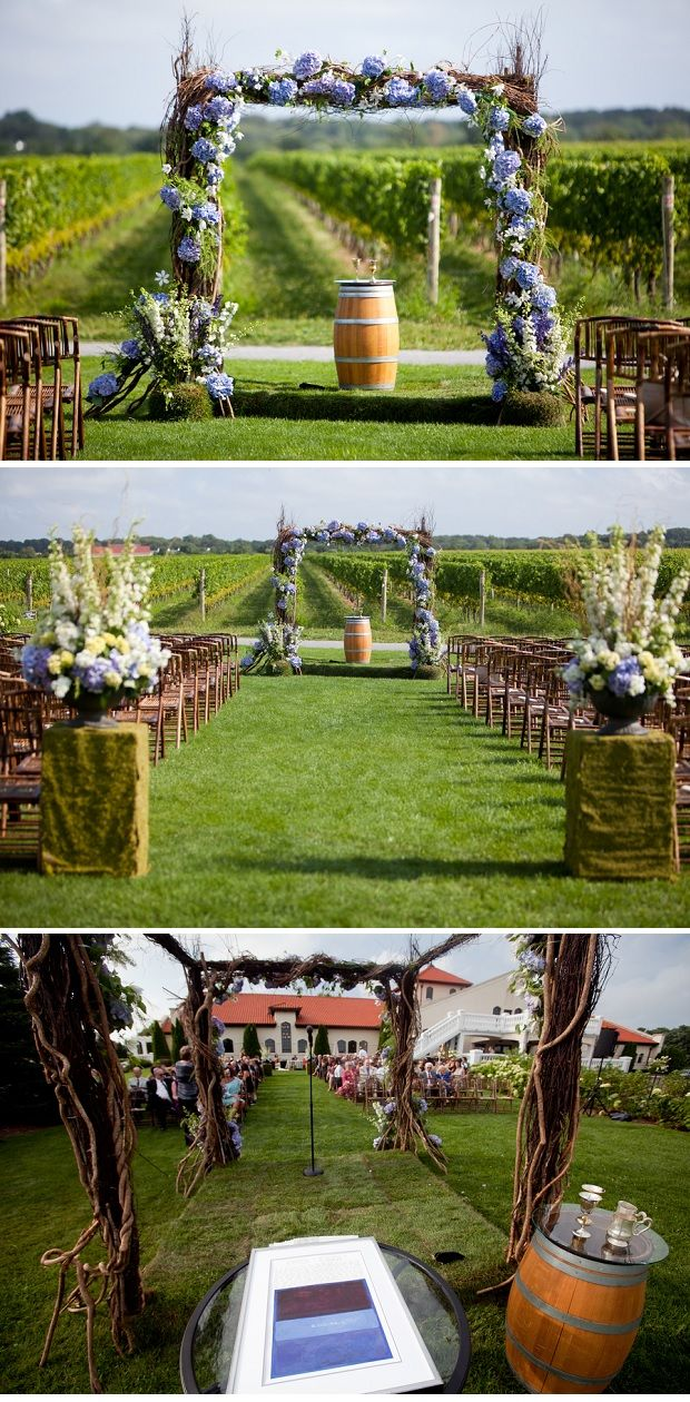 Wonderful rustic design! Laura   Don: Hochzeit auf dem Weingut mit Roberto Falck Photography