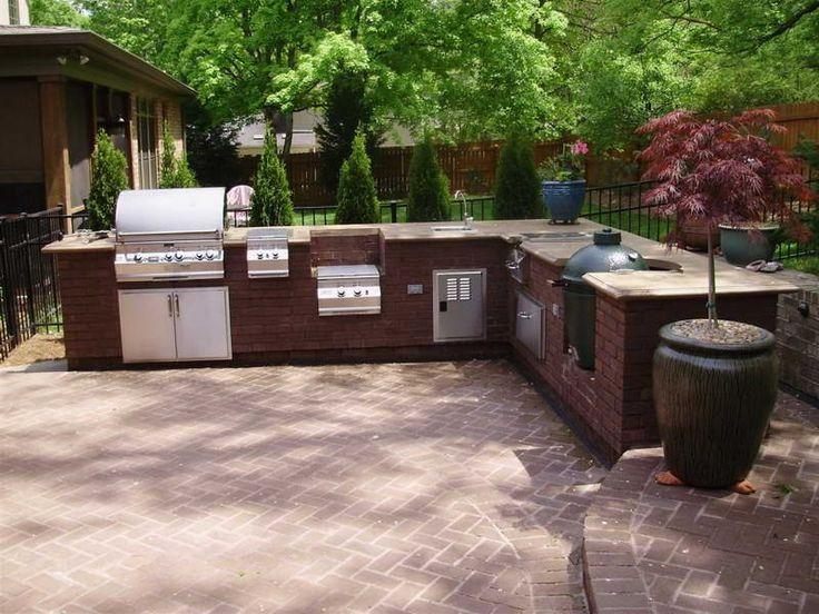 59 best outdoor kitchen ideas images on pinterest