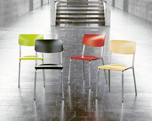 Embru-Werke|Schule|Schulmöbel|Stühle|Stuhl 1255  ca. 240 Franken