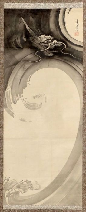 Shohaku SOGA (1730~1781), Japan 曾我蕭白