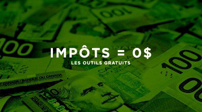 OUTILS GRATUITS POUR VOTRE RAPPORT D'IMPÔTS