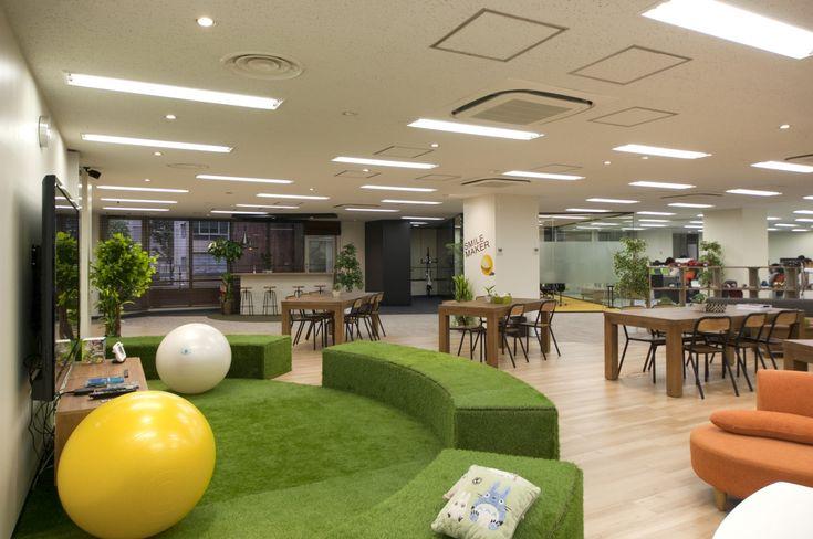 笑顔を創るシネマオフィス|オフィスデザイン事例|デザイナーズオフィスのヴィス