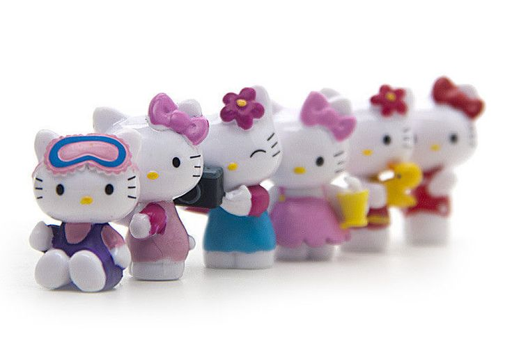 Hello Kitty Action Figure Cartoon Toys Girls Set for Children Kid Figures New #Unbranded