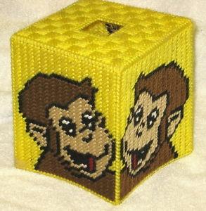 Free Plastic Canvas Tissue Box Patterns | Curious George Tissuebox Cover Plastic Canvas Pattern | eBay