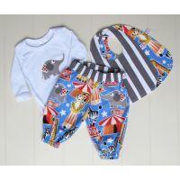 Circus Baby Boy Gift Set