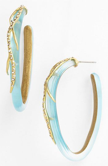 Alexis Bittar 'Ophelia' Vine Hoop Earrings available at #Nordstrom