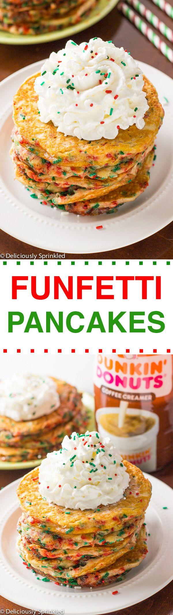 Funfetti Pancakes | Recipe | The o'jays and Pancakes